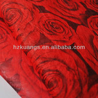 Plain printed Non-woven fabric for flower wrapping/Christmas flower wrapping paper