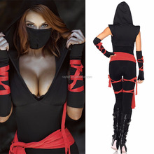 1158 Halloween Japanese Ninja Lady Costumes Nude Lady Sexy Costume for Woman