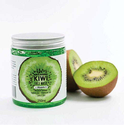 Guangzhou Private Label OEM Kiwi Fruit Gel Eye Face Mask Collagen Crystal Facial Mask