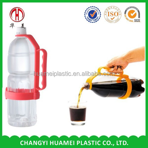 plastic adjustable bottle handle