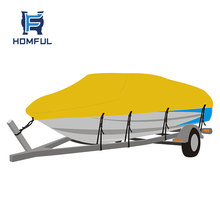 Homful marine products 20-22' bass boat v hull boat cover outdoor flat boat cover