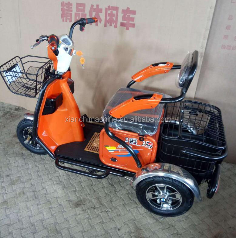 Electric trike CE three wheels 36V 9Ah family electric cargo tricycle bike/cargobike/bakfiets UB9031E wholesale china bikes