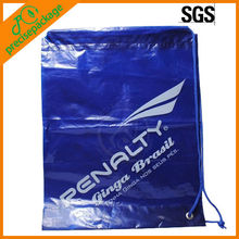 Promotional Cheap eco-friendly waterproof printed LDPE drawstring bag