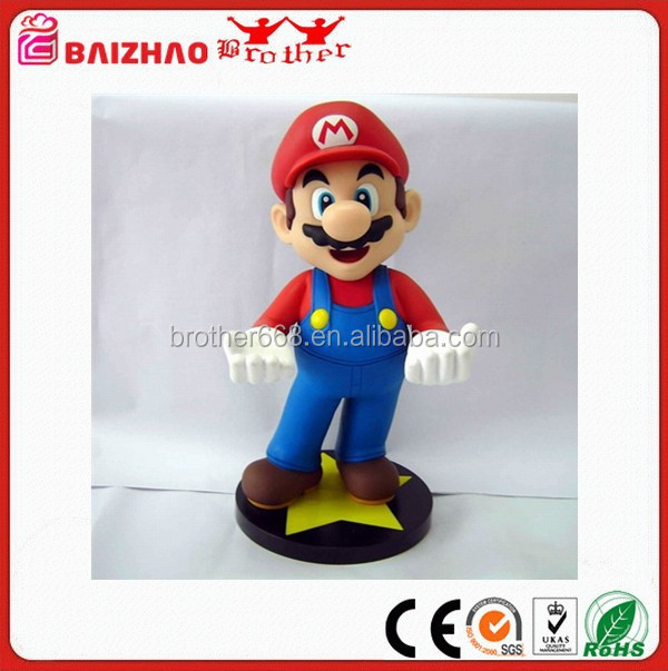 Super Mario Simulation Action Figures Decoration Girl Boy Toys Gift