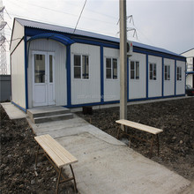 modern design steel structural Prefabricated Temporary Office building