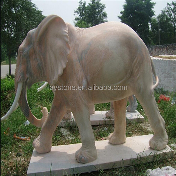 Chinese granite elephant sculpture