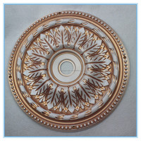 Low-cost Antique ceiling decorations/restaurant plastic medallions/wedding ceiling decoration