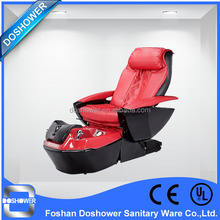 Doshower red color luxury sofa modern fiberglass cheap pedicure chairs nail beauty equipment pedicure chair with 3 motor