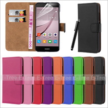 Sythnetic Leather Wallet Phone Case Back Cover For Huawei Nova