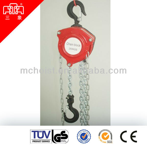 HSZ-B series 0.25t chain hoist