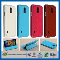 2014 luxury design flip diamond bling leather case for samsung galaxy s5 i9600