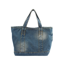factory wholesale denim bag oem denim shoulder bags denim tote bags wholesale