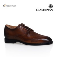 High End Man Oxford Leather Shoe