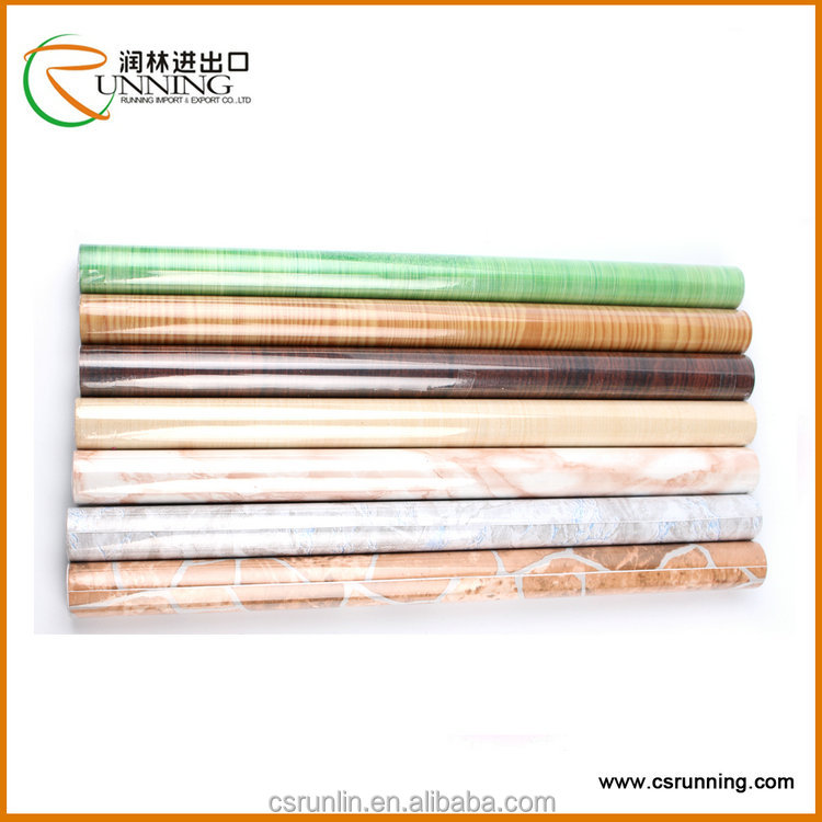 marble contact paper waterproof self adhesive wood grain vinyl film