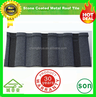nigeria/kenya/ghana colorful stone coated metal roofing tile