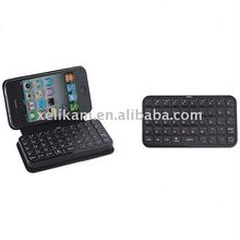 Accessory for apple iPhone4 Bluetooth Keyboard Leather Case for iPhone4 keyboard case