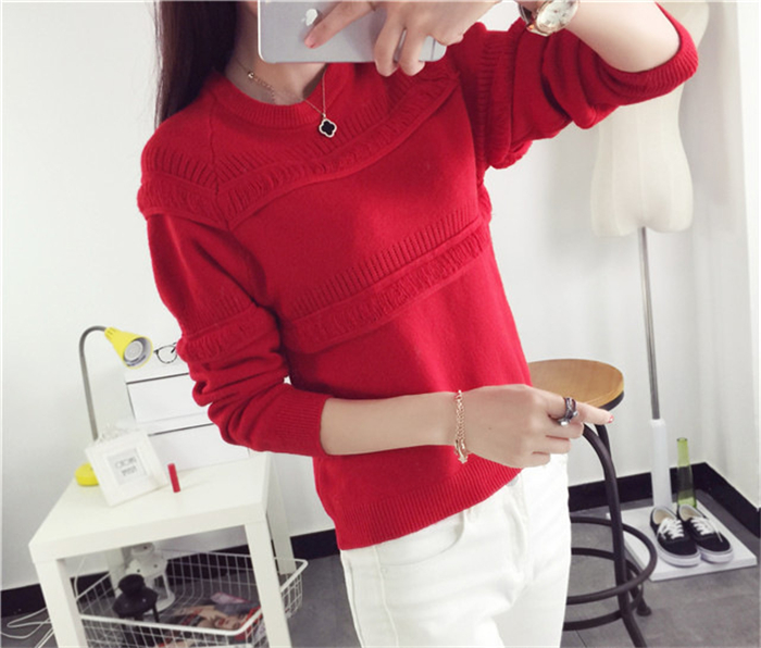 wholesale clothing sweater for women woodland sweater