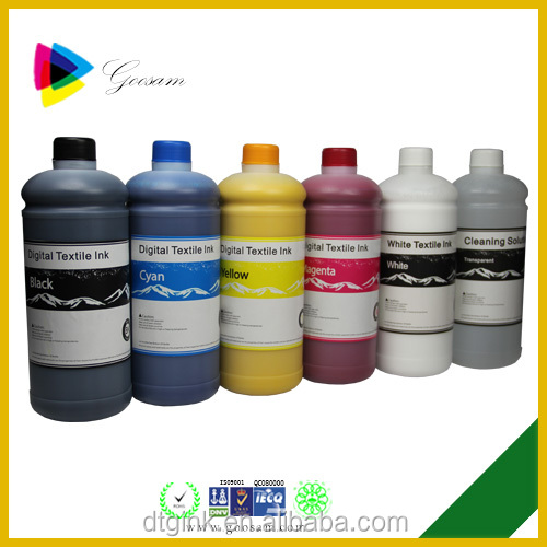 Ture color DX5 Digital Textile ink for Brother Jet-TX1800 direct to garment printer