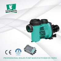 TSSP 2016 PUMPMAN new good quality 3 years warranty brushless dc surface solar powered water pump for swimming pool slide