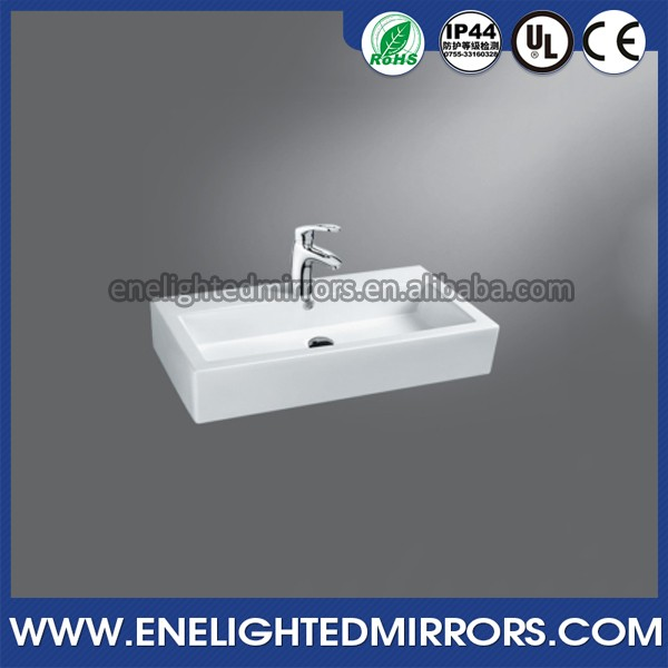luxury Hotel Above counter white american standard ceramic basin
