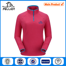OEM Women Half Zip Fleece Jacket
