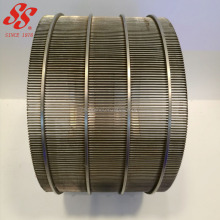 304 316L 100 micron stainless steel wedge wire mesh screen for water well