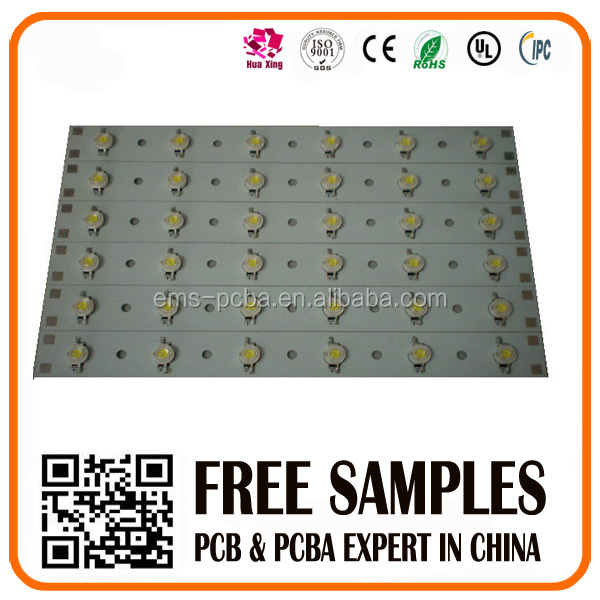 aluminum base pcb with hasl finish for led lights