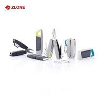 new promotion gift ideas Solar flashlight and knife sets import gift items from china