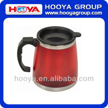 450ML STAINLESS STEEL CAR MUG
