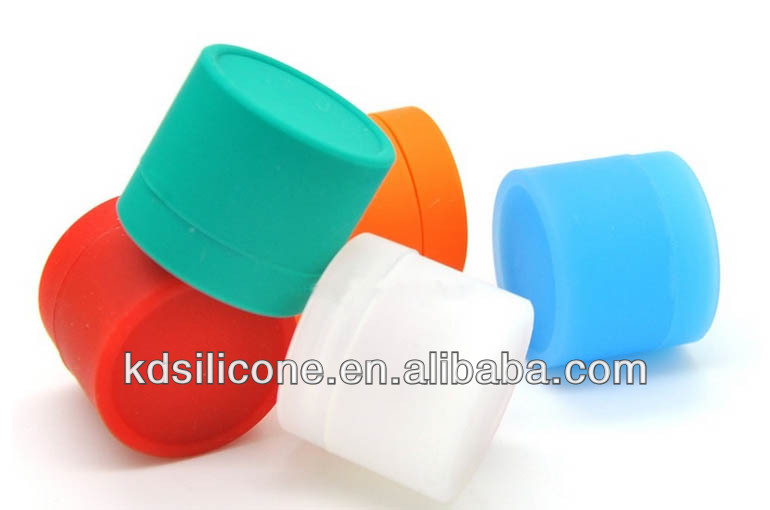 custom small silicone jar for sticky product,silicone rubber tobacco jar, mini silicone jars dab wax vaporizer container