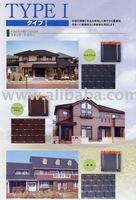 Japan Clay Roof Tiles