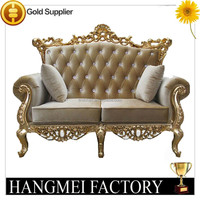 French Romantic Style Luxury Sofa Fabric