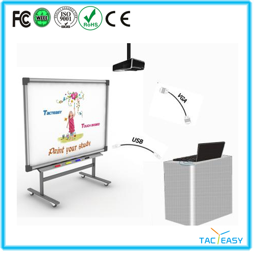 Four users infrared presentation smartboards with high quality