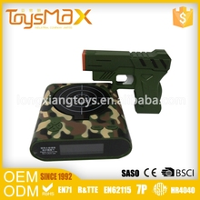 Waterproof Battery Laser Gun Target Alarm Clock