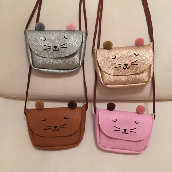 PHB50254 meow design baby girls fashion wholesale purses