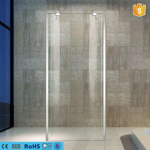 china gold suppliers builds a portable new frameless shower screen