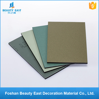 Guangzhou manufacturer color custom design wall cladding alucobond 5mm dibond