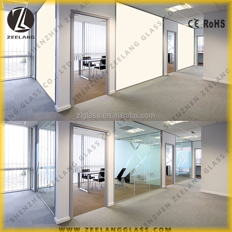 bulletproof window window kitchen cabinet smart tint pdlc film Decorative hotel residential commercial smart tint pdlc film