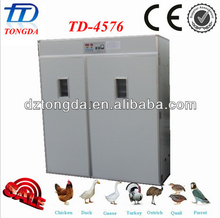 chicken egg incubator broiler eggs for hatching 11492 quail eggs incubator( TD-4576) Best selling in China