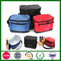 wholesales nylon lunch 6 pack insulated sandwich cake disposable cooler bag