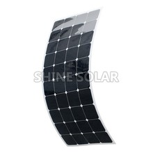 for wholesale and retailers 120w flexible solar panel 12v
