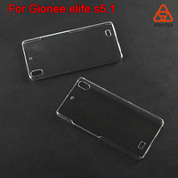 Hard Shell Plastic Cover Cases Phone Case For Gionee elife s5.1, for KAZAM Tornado 348 clear crystal case