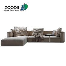 Loose seat and back down feather sit cushion Alibaba sofa