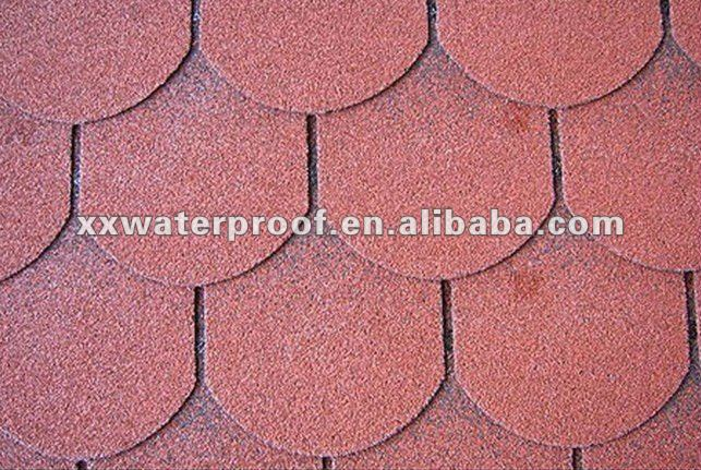 Manufacturer For Fish Scale Asphalt Roof Shingles