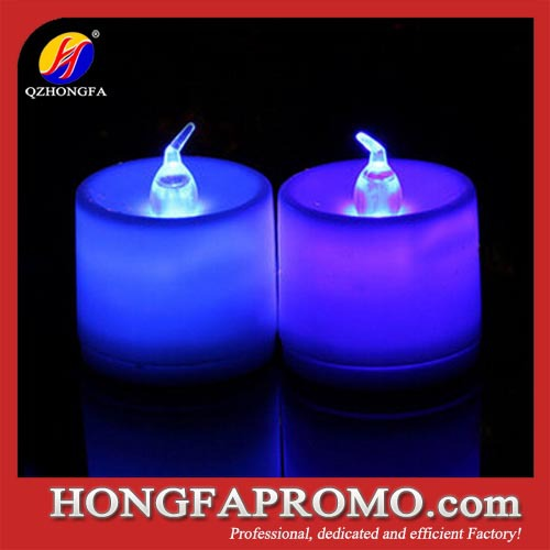 Colorful LED Tealight candle