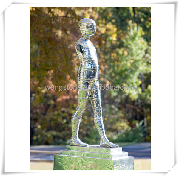 Human Statues,Abstract Human Body Stainless Steel Sculpture