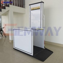 1m Hot sale hydraulic wheelchair lift for disabled people