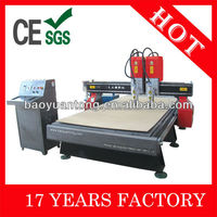 Hot-sale CNC Wood Engraving Machine 2 Heads