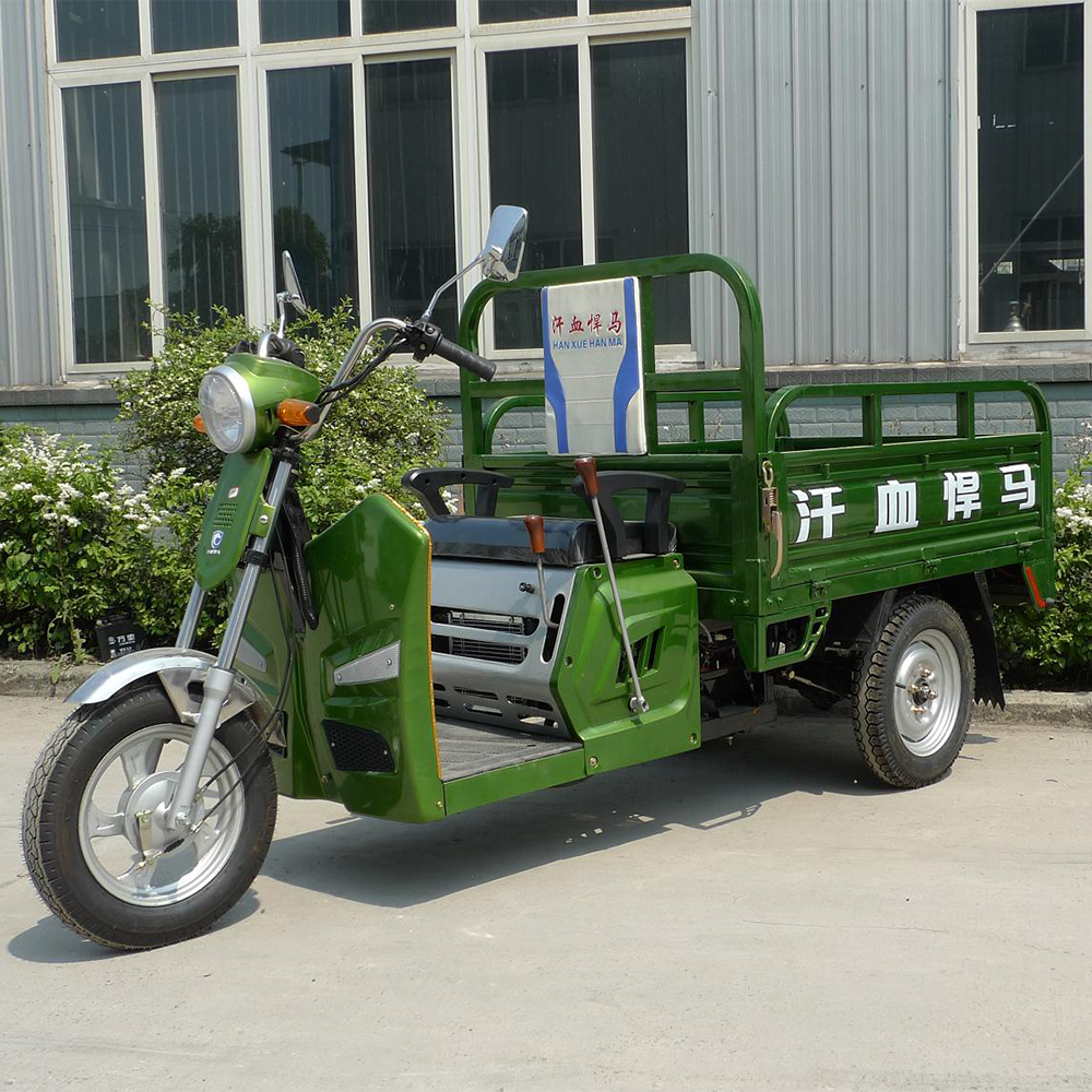 China popular motorized motorcycle cargo tricycle