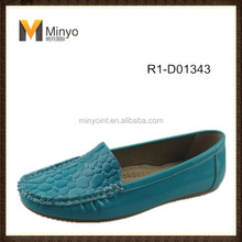 Minyo 2014 New Styles Colorful Lady Fashion Loafer Shoes